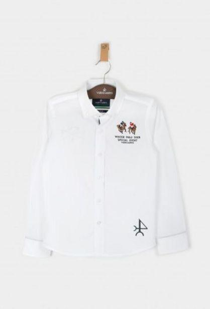 Oferta de Camisa Niño Vlc Blanco por 29,95€