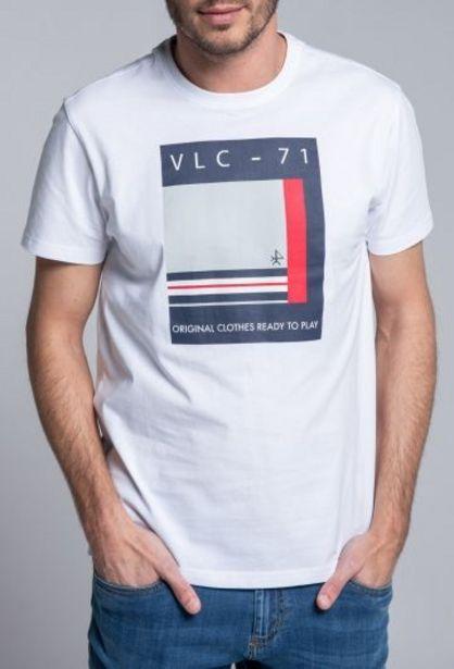 Oferta de Camiseta Código VLC blanco por 14,94€