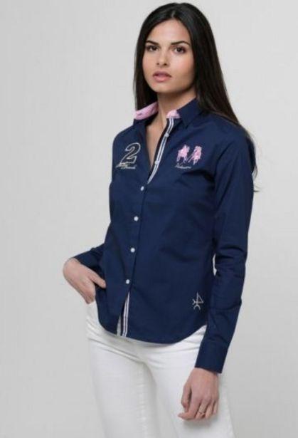 Oferta de Camisa Palm beach de mujer azul por 34,65€