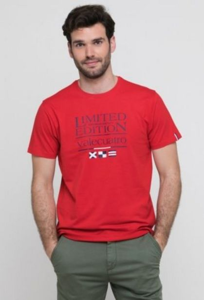 Oferta de Camiseta limited roja de hombre por 14,41€