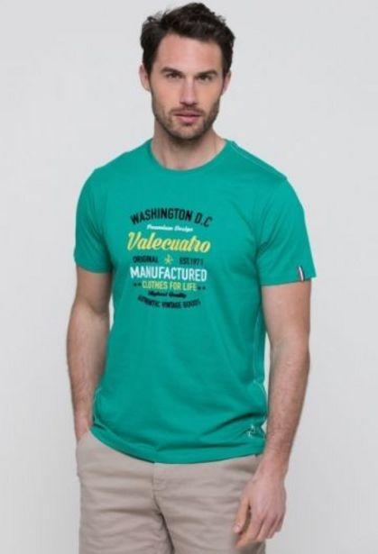 Oferta de Camiseta Washington verde de hombre por 14,41€
