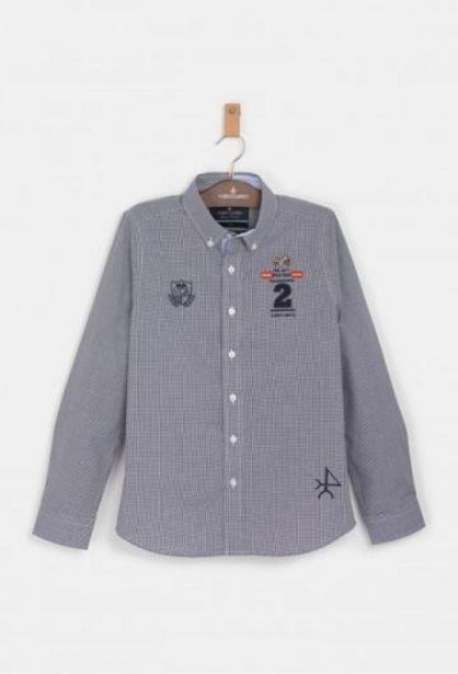 Oferta de Camisa Niño Caballos España Azul Marino por 27,45€