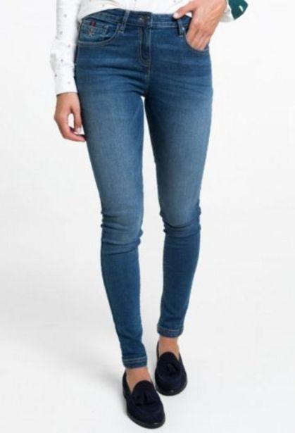 Oferta de Pantalón de pitillo mujer vaquero por 37,55€