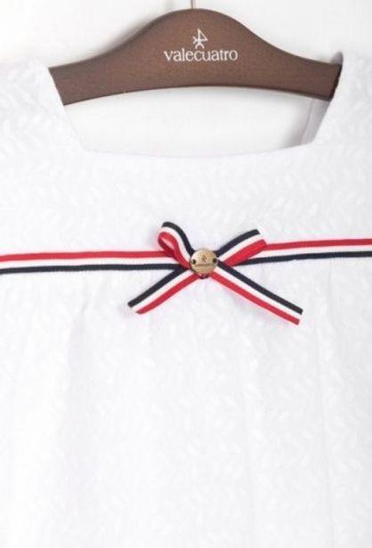Oferta de Blusa Na Guipur Blanco por 22,45€