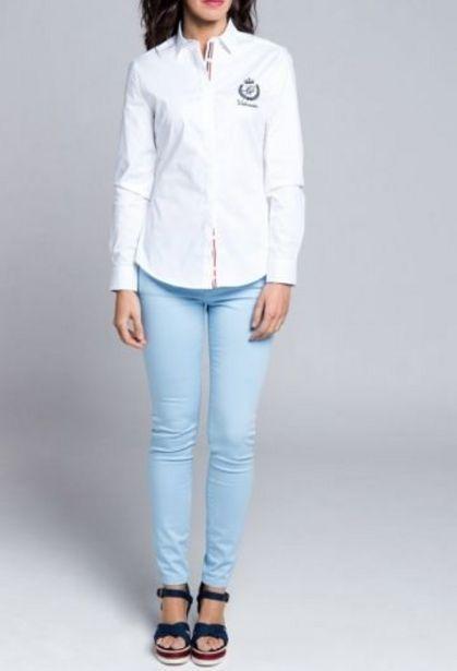 Oferta de Camisa M Clasica Blanco por 32,94€