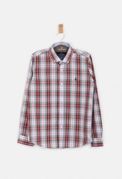Oferta de Camisa tartán blanco de niño por 35,92€