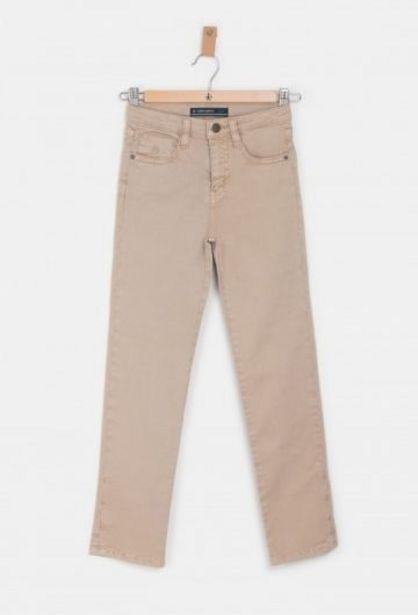 Oferta de Pantalón No Cinco Bolsillos Beige por 22,45€