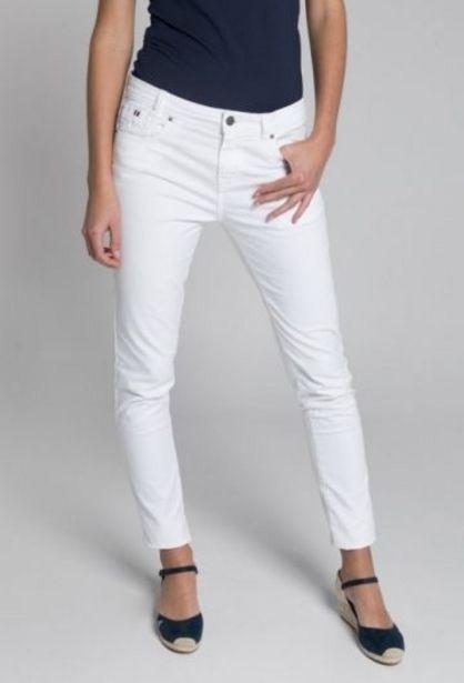 Oferta de Pantalón cinco bolsillos blanco por 35,94€