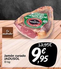 Oferta de Jamón curado JADUSOL por 9,95€