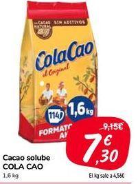Oferta de Cacao soluble COLA CAO por 7,3€