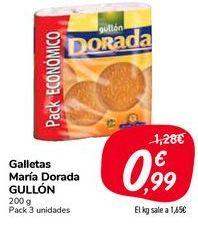 Oferta de Galletas María Dorada GULLÓN por 0,99€