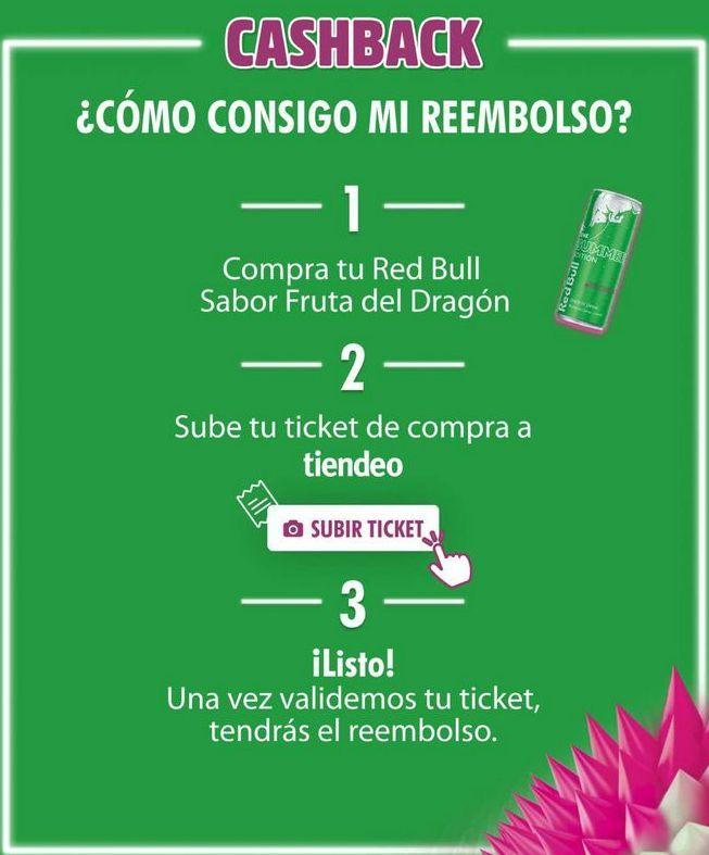 Oferta de Bebida energética Red Bull por