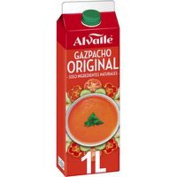 Oferta de Gazpacho ALVALLE, brik 1 litro por 3,46€