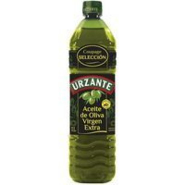 Oferta de Aceite de oliva virgen extra URZANTE, botella 1 litro por 4,59€