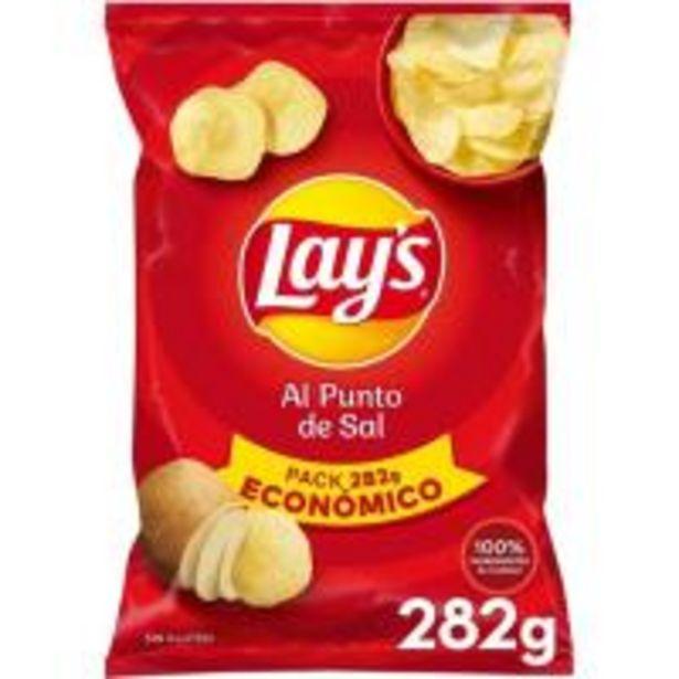 Oferta de Patatas fritas al punto de sal LAY'S, bolsa 282 g por 2,18€