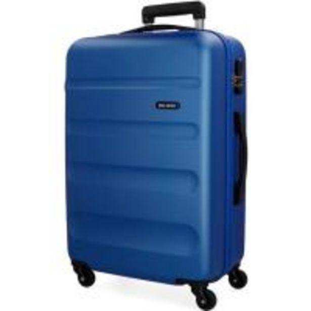 Oferta de Trolley cabina ABS rígido: 4ruedas, candado, flexible, azul ROLL ROAD, 1ud por 39,9€