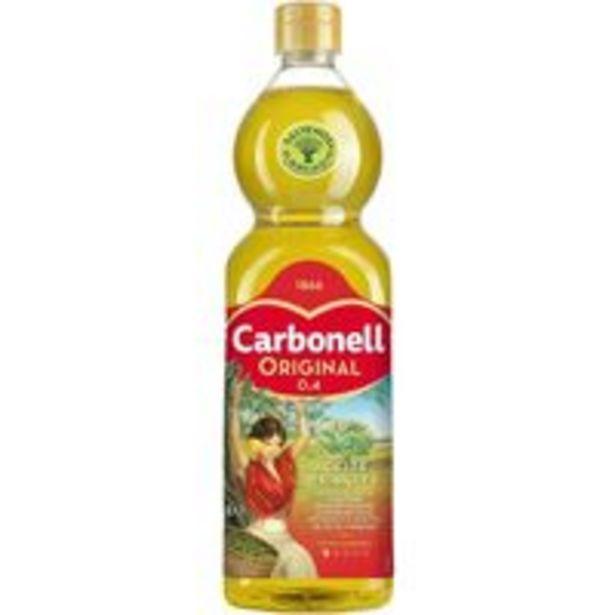 Oferta de Aceite de oliva 0,4º CARBONELL, botella 1 litro por 3,99€