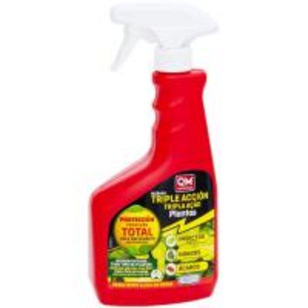 Oferta de Insecticida triple acción: insectos,ácaros y hongos IKEBANA, pulverizador 750ml por 8,99€