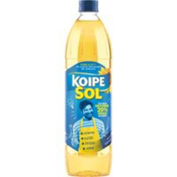 Oferta de Aceite de girasol KOIPESOL, botella 1 litro por 1,79€