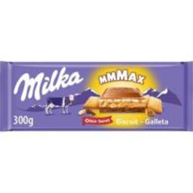 Oferta de Chocolate chocogalleta MILKA, tableta 300 g por 2,65€