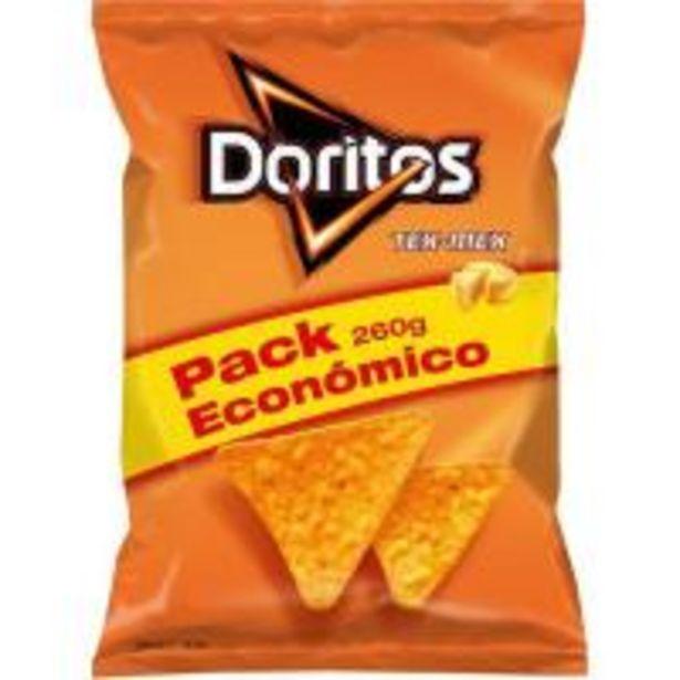 Oferta de Nachos de maíz DORITOS Tex Mex, bolsa 260 g por 2,7€