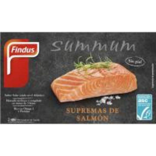 Oferta de Suprema de salmón ASC FINDUS, caja 200 g por 7,49€
