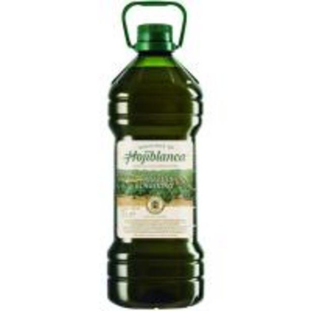 Oferta de Aceite de oliva virgen extra HOJIBLANCA, garrafa 3 litros por 11,97€