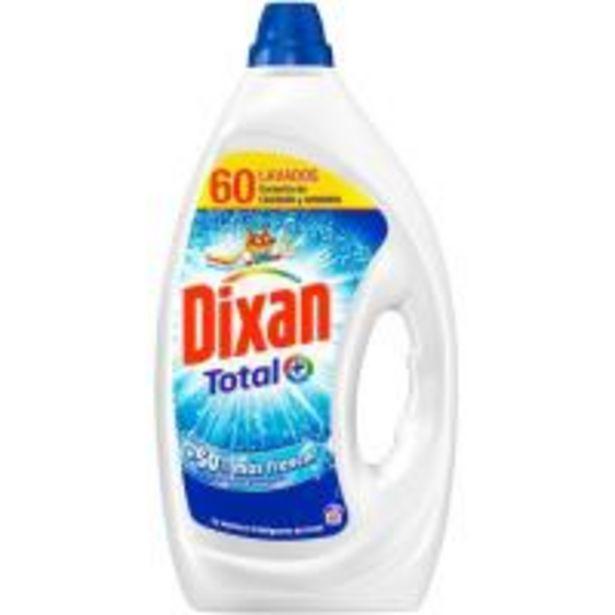 Oferta de Detergente líquido DIXAN, garrafa 60 dosis por 10,99€