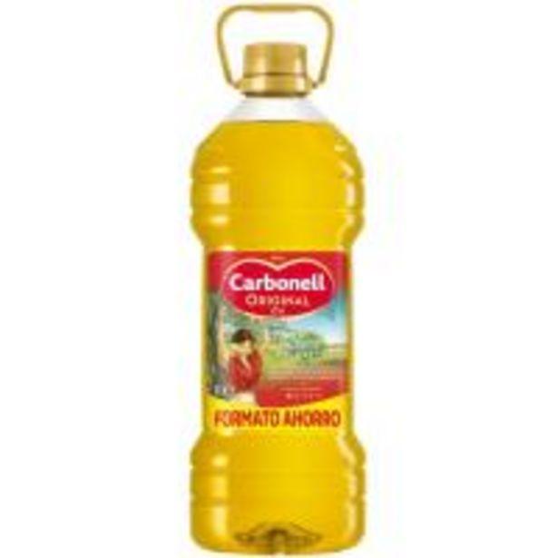 Oferta de Aceite de oliva 0,4º CARBONELL, garrafa 3 litros por 11,79€