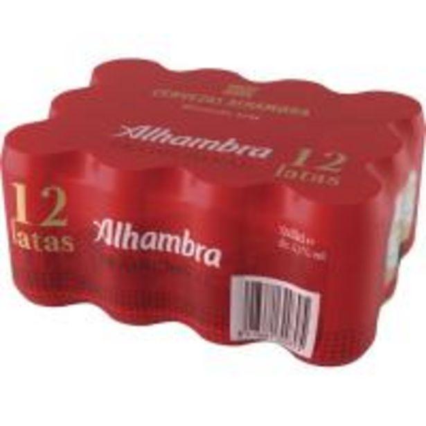 Oferta de Cerveza ALHAMBRA Tradición, pack lata 12x33 cl por 6,75€