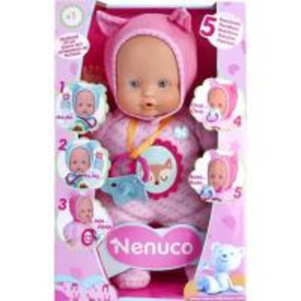 Oferta de Nenuco blandito 5 funciones, edad rec:+1 año, funciona a pilas incluidas NENUCO por 14,99€