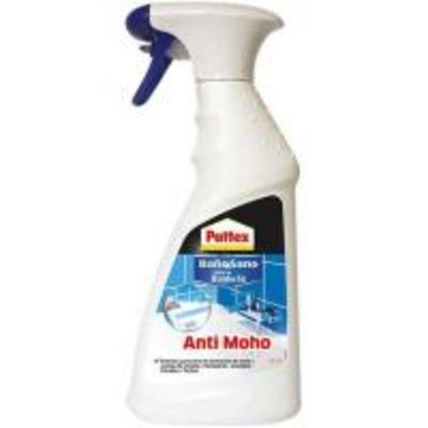 Oferta de Limpiador de baños anti-moho PATTEX, spray 500ml por 3,99€