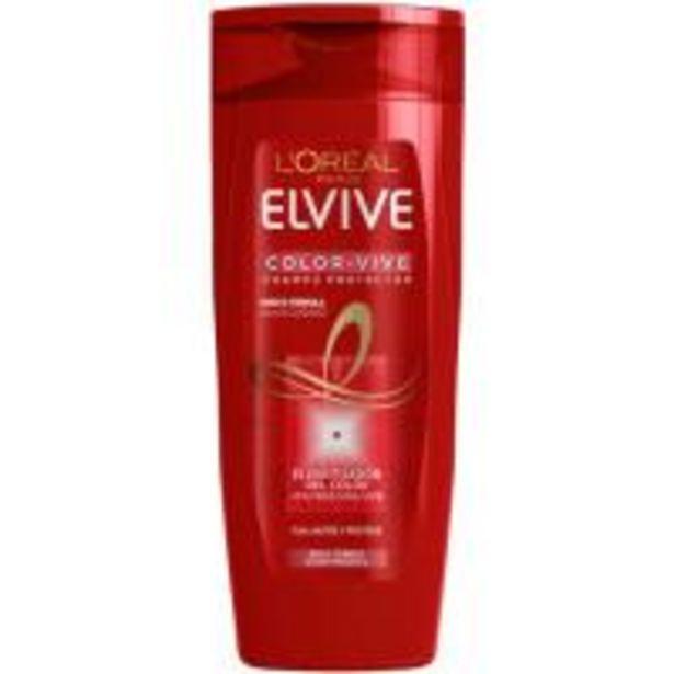Oferta de Champú color ELVIVE, bote 370 ml por 3,99€