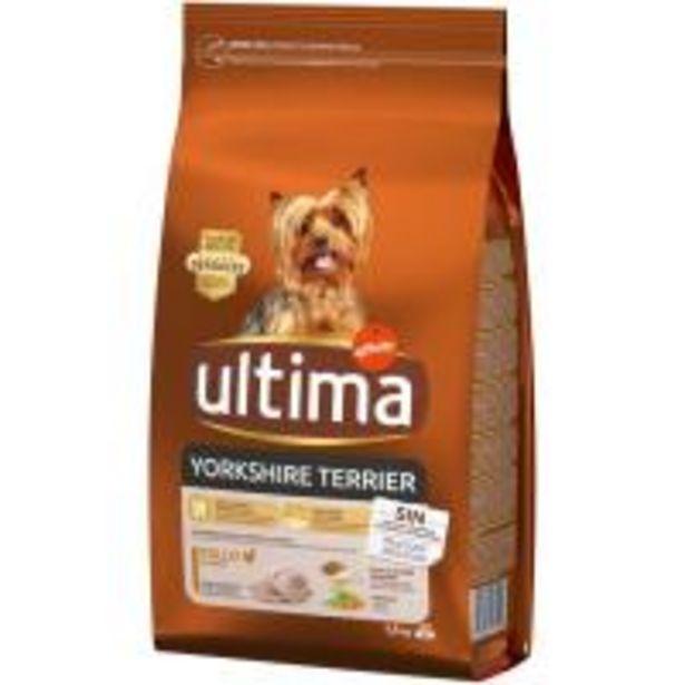 Oferta de Alimento para perro mini Yorkshire ULTIMA, paquete 1,5 kg por 6,29€