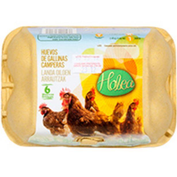 Oferta de Huevo campero HOBEA, cartón 6 uds por 1,35€