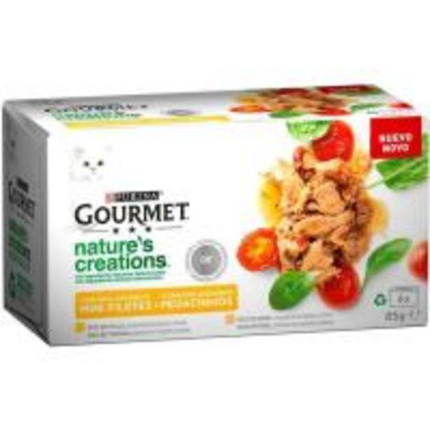 Oferta de Mini filetes rico en pollo GOURMET Nature's , pack 4x85 g por 3,89€