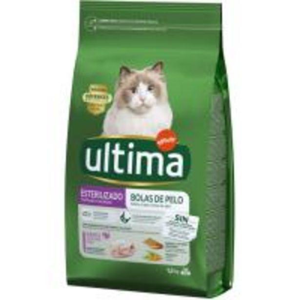 Oferta de Control bolas gato esterilizado ULTIMA, saco 1,5 kg por 6,99€