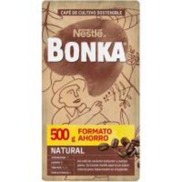 Oferta de Café molido natural BONKA, paquete 500 g por 3,95€