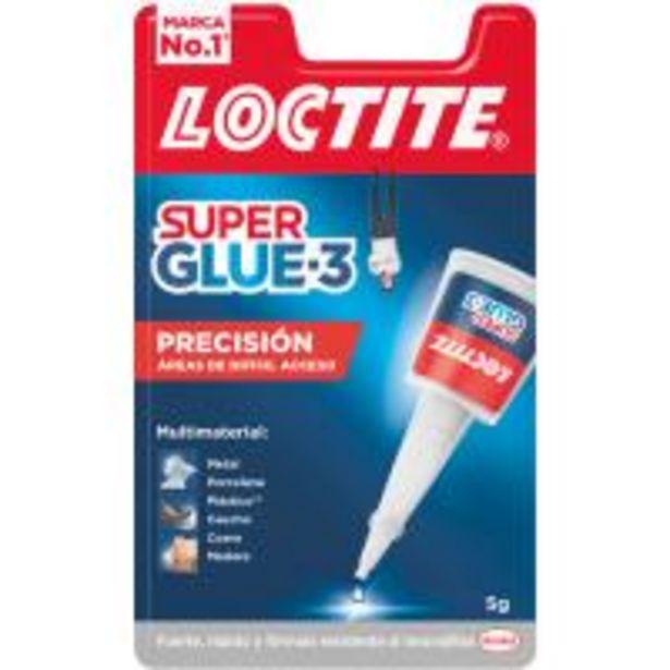 Oferta de Pegamento LOCTITE Super Glue-3 Precisión, 5gr por 7,59€