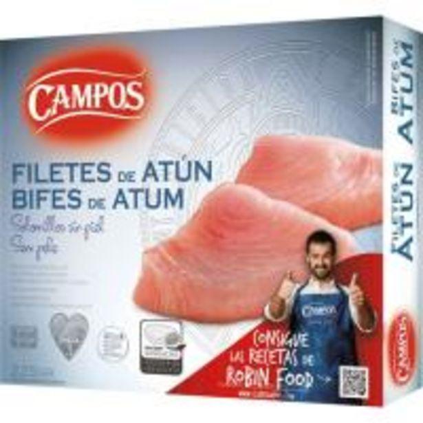 Oferta de Filete de atún CAMPOS, caja 225 g por 3,79€