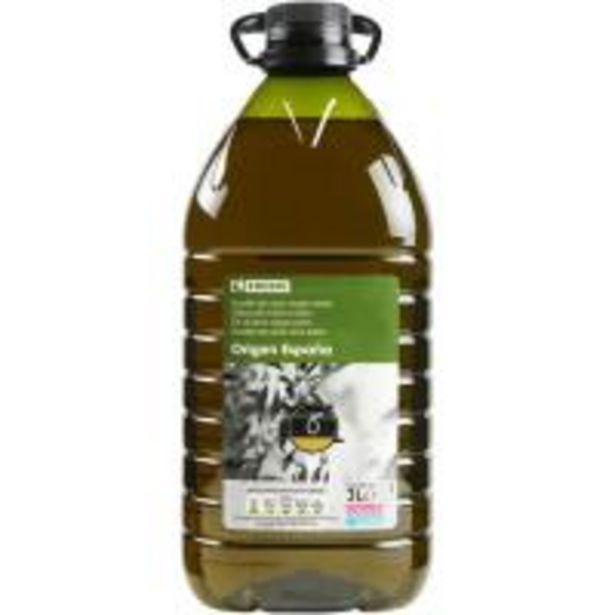 Oferta de Aceite de oliva virgen extra EROSKI, garrafa 3 litros por 9,99€