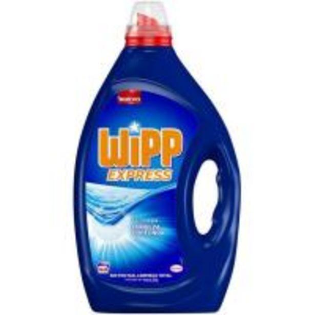 Oferta de Detergente gel azul WIPP, garrafa 40 dosis por 10,7€