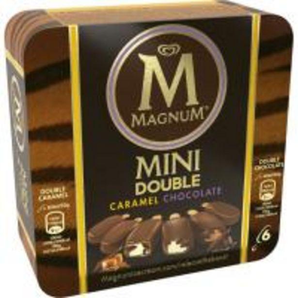 Oferta de Bombón Mini double MAGNUM, 6 uds, caja 300 g por 4,69€
