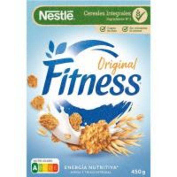 Oferta de Cereales de desayuno NESTLÉ Fitness, caja 450 g por 2,79€