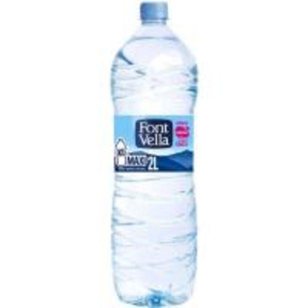 Oferta de Agua mineral FONT VELLA, botella 2 litros por 0,8€