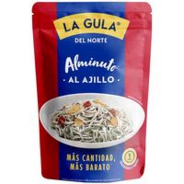 Oferta de Alminuto de gulas al ajillo LA GULA DEL NORTE, sobre 110 g por 2,99€