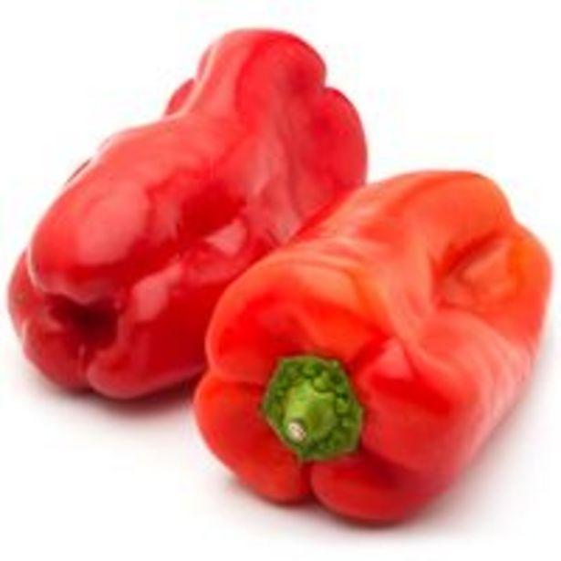 Oferta de Pimiento rojo Lamuyo, al peso, compra mínima 500 g por 1,2€