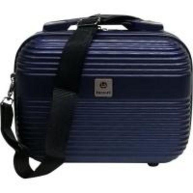 Oferta de Neceser color azul ABS Elegant, 30x22x14 cm., 1 ud. por 9,99€
