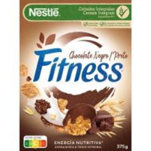 Oferta de Cereal de chocolate negro NESTLÉ Fitness, caja 375 g por 2,75€