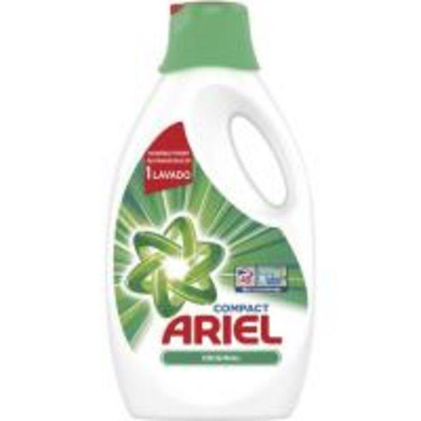 Oferta de Detergente líquido regular ARIEL, garrafa 40 dosis por 11,04€